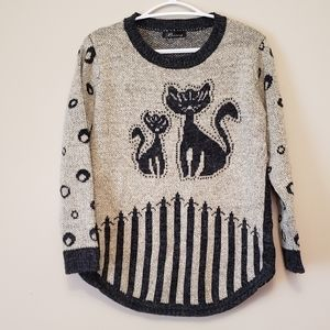 Quirky Cat Sweater